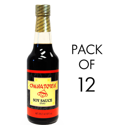 Chinatown Soy Sauce (Dark) 10oz 12-Pack