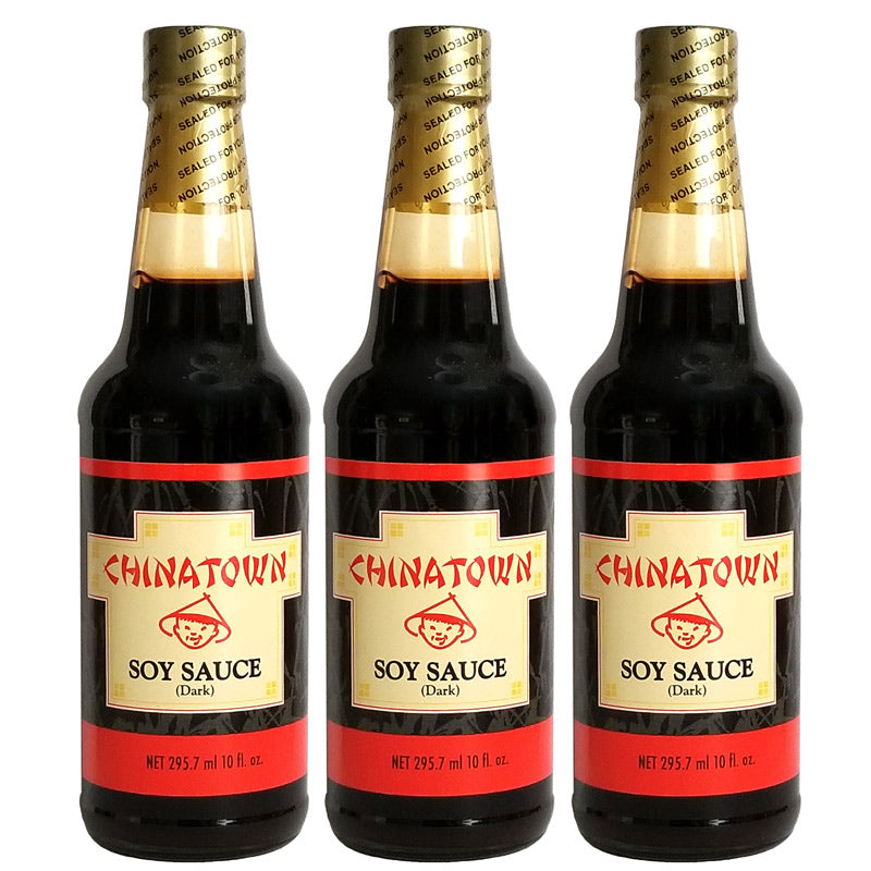 Chinatown Soy Sauce (Dark) 10oz 3-Pack