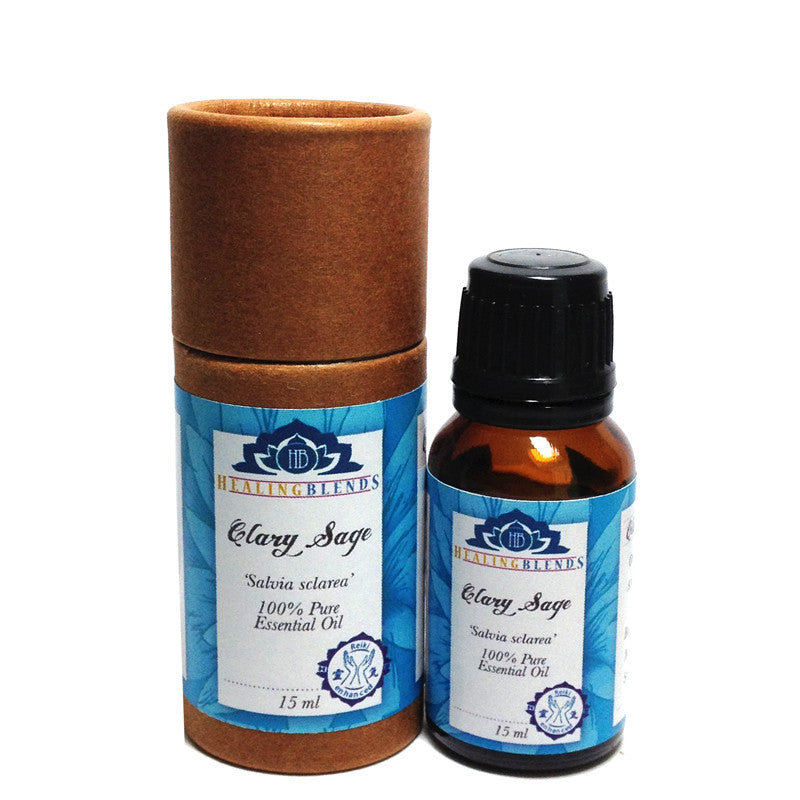 Clary Sage Essential Oil 15ml by Healing Blends
