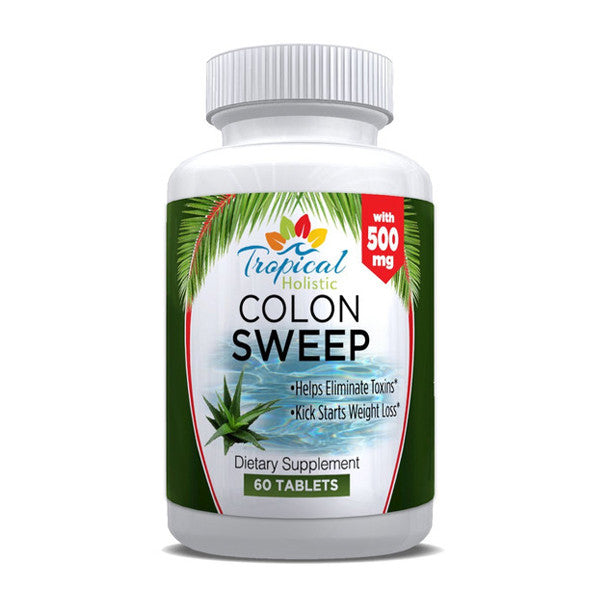 Tropical Holistic Colon Sweep Dietary Supplement 60 Tablets