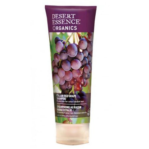 Desert Essence Organics Italian Red Grape Shampoo 8 OZ
