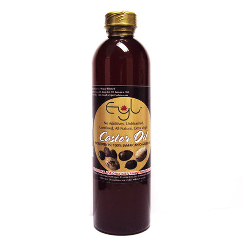 EYL Jamaican Cold Pressed Castor Oil 8oz