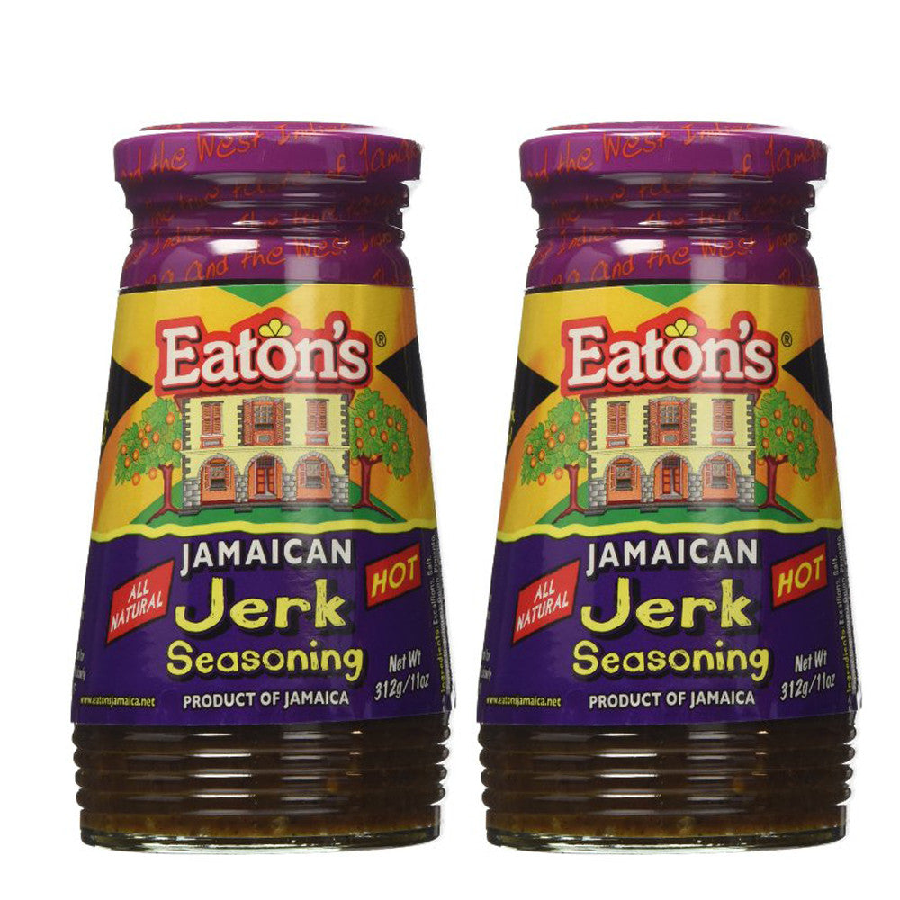 Eaton's Jamaican Jerk Seasoning 11oz 2-PACK