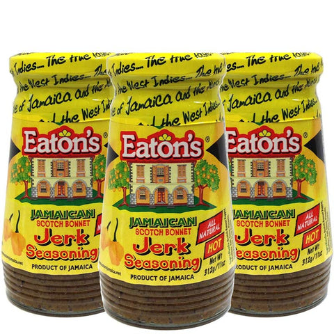 Eaton's Jamaican Scotch Bonnet Jerk Seasoning 11oz 3-PACK