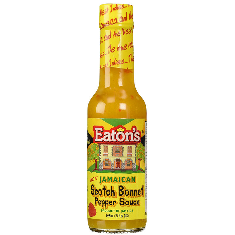 Eaton's Jamaican Scotch Bonnet Pepper Sauce 5 fl oz