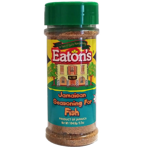 Eaton's Jamaican Seasoning For Fish 3.7oz