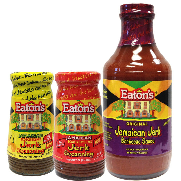 Eaton's Jerk Barbecue and Jerk Seasoning 3-Pack1