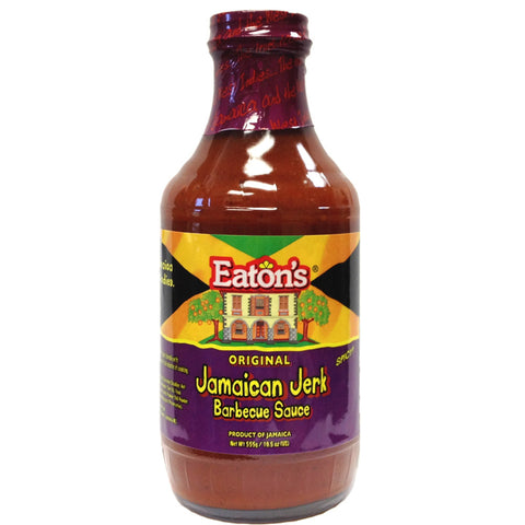 Eaton's Original Jamaican JERK Barbecue Sauce 19.5oz