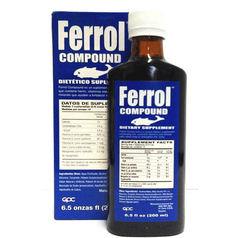 Ferrol Compound Dietary Supplement 6.5oz (200ml)