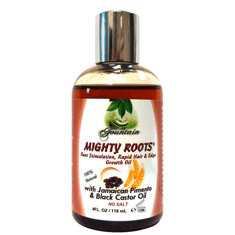 Fountain Mighty Roots with Jamaican Pimento and Black Castor Oil 4oz