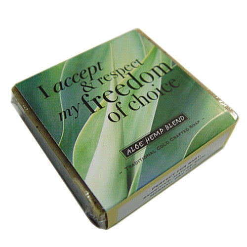 Aloe Hemp Affirmation Soap by Healing Blends