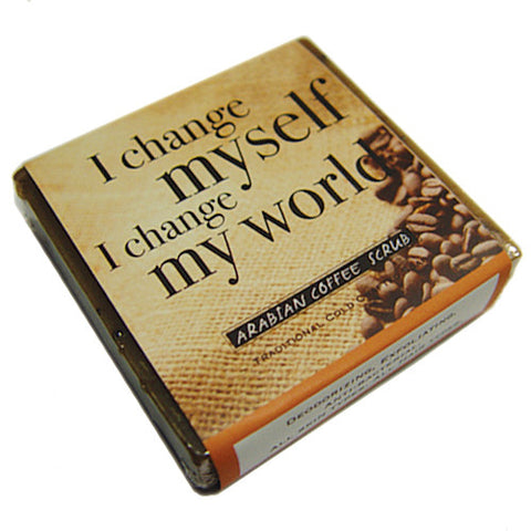 Arabian Coffee Scrub Affirmation Soap