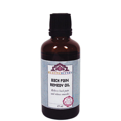 Healing Blends Back Pain Remedy Oil 43ml
