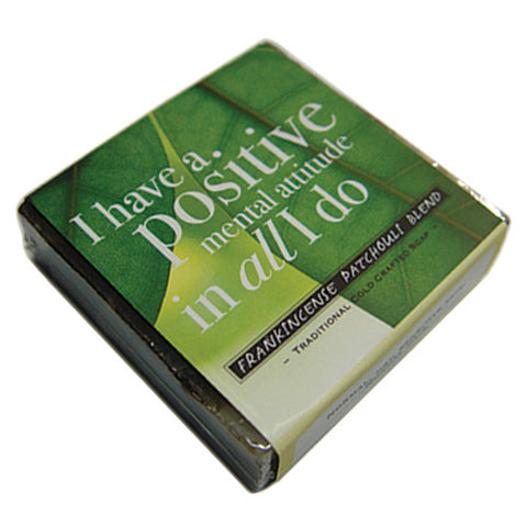 Frankincense Patchouli Blend Affirmation Soap