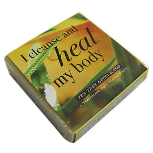 Tea Tree Neem Blend Affirmation Soap