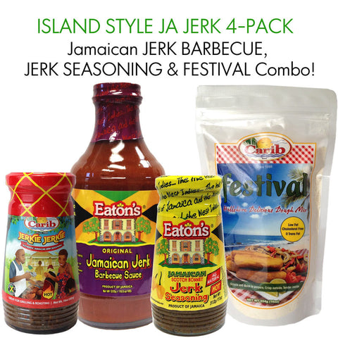 Island Style Jamaican Jerk 4-Pack Special