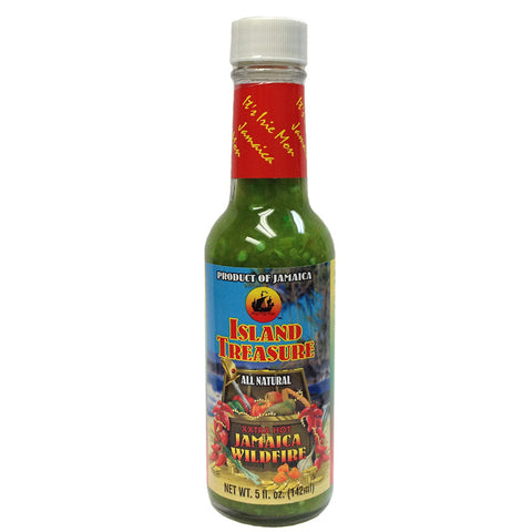 Island Treasure Jamaica WILDFIRE Hot Sauce 5oz