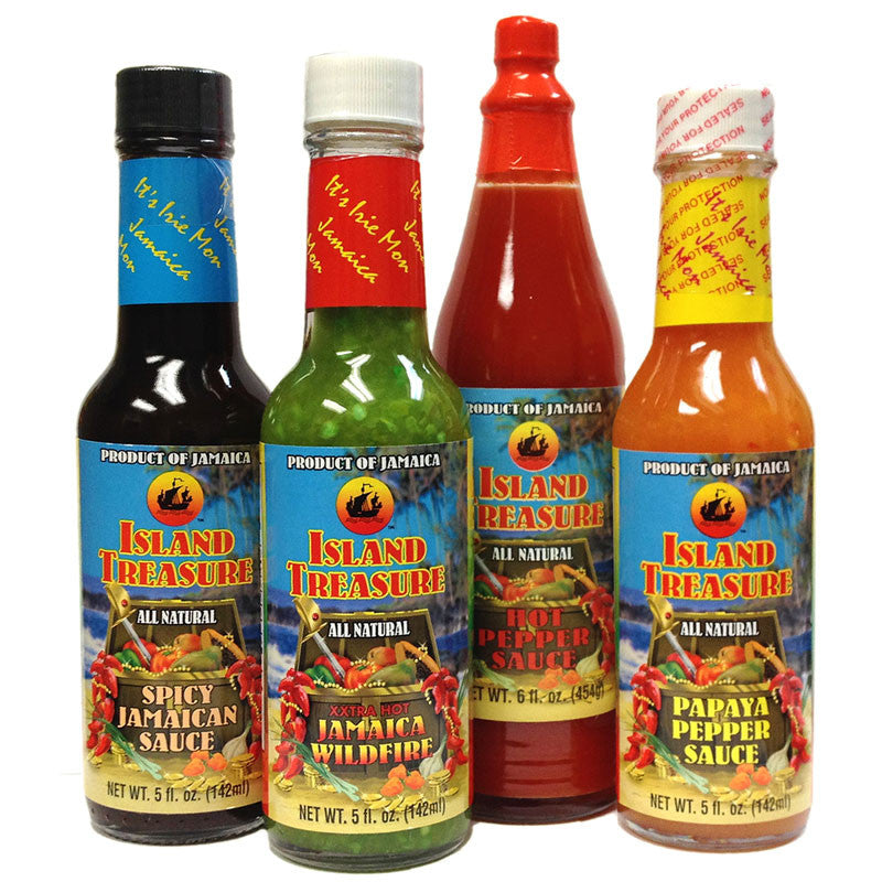Island Treasure Jamaican Pepper Sauce GIFT Pack