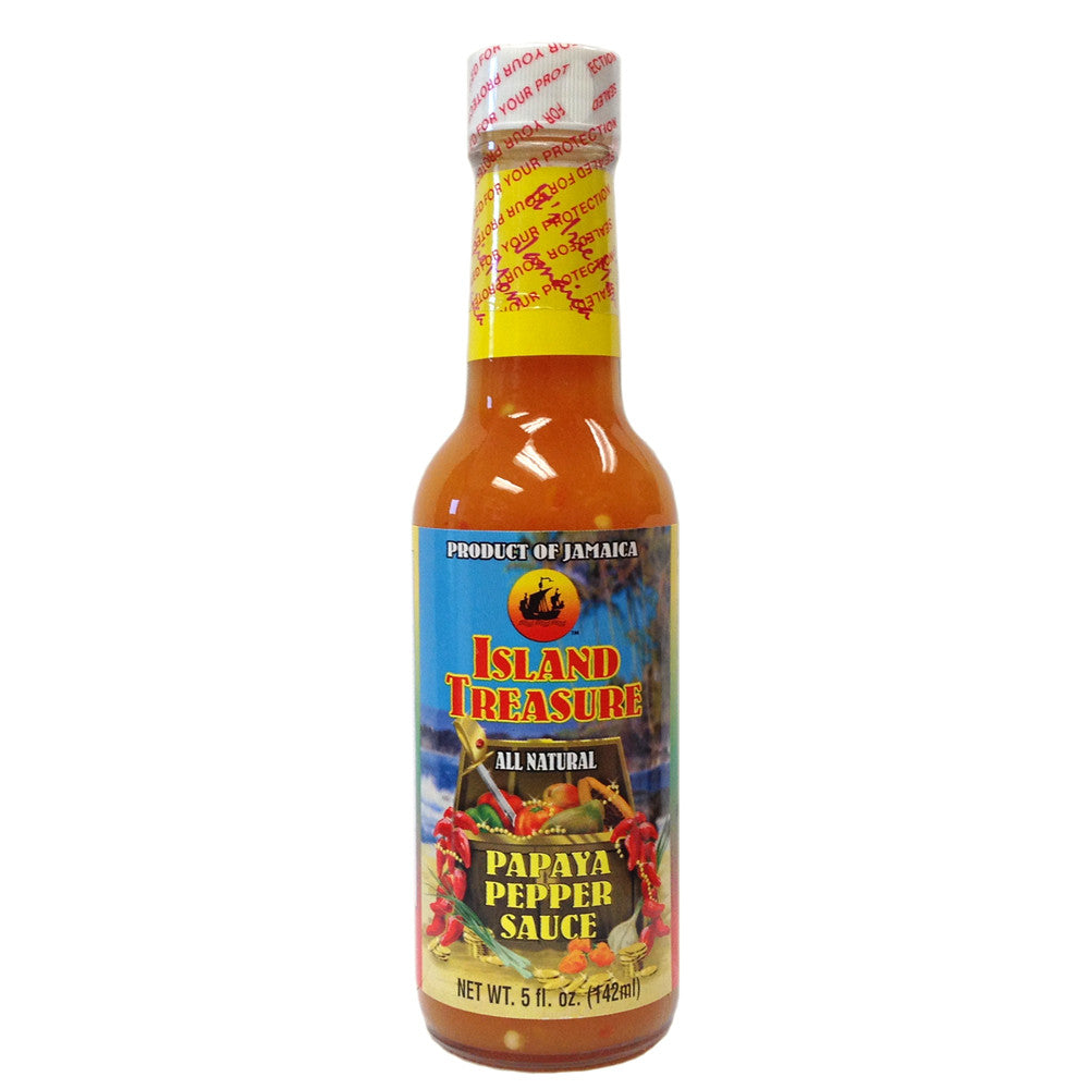 Island Treasure Papaya Pepper Sauce 5 fl oz