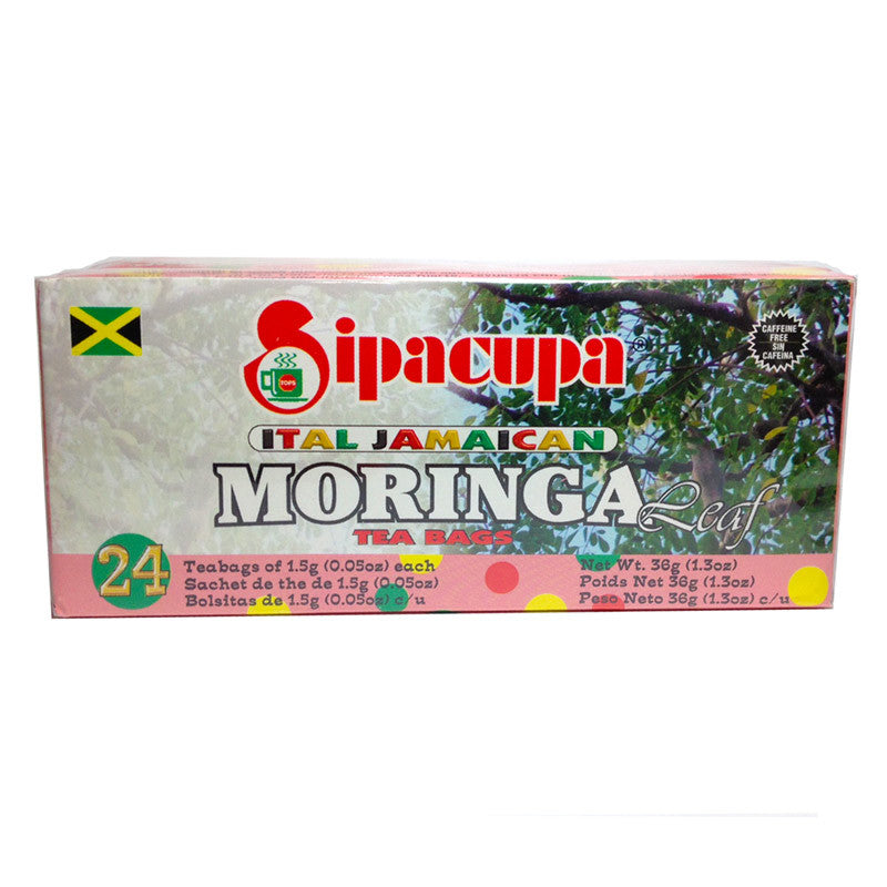 Ital Jamaican Moringa Leaf Tea (100% Leaves)