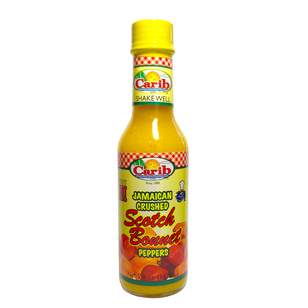 Jamaican Crushed Scotch Bonnet Peppers 5 fl oz