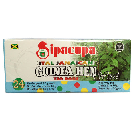 Guinea Hen Weed Tea (100% Roots and Leaves - Jamaican Anamu Tea)