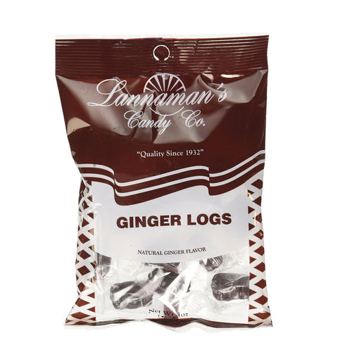 Lannaman's Ginger Log Candy