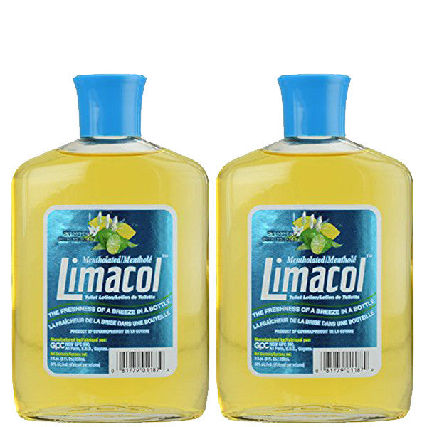 Limacol Mentholated Lotion 8oz 2-Pack