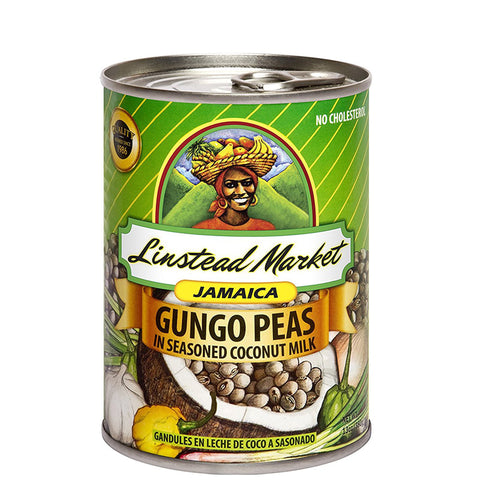 Linstead Market Jamaica Gungo (Pigeon) Peas in Seasoned Coconut Milk 13oz