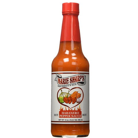 Marie Sharp's HOT Habanero Pepper Sauce 10oz