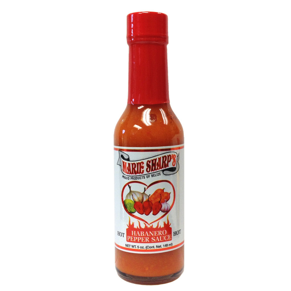 Marie Sharp's HOT Habanero Pepper Sauce 5oz