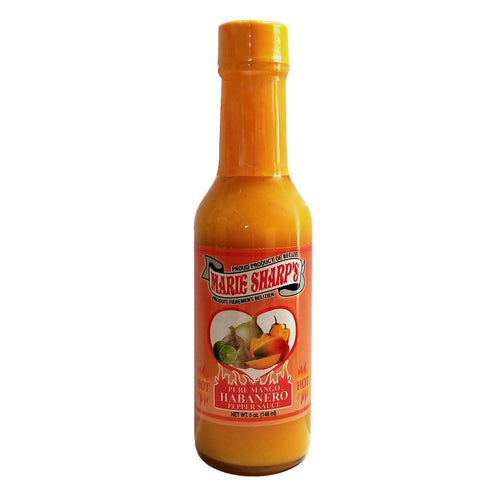 Marie Sharp's PURE MANGO Habanero Pepper Sauce 5oz
