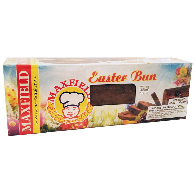 Maxfield Jamaican Easter Bun 42oz