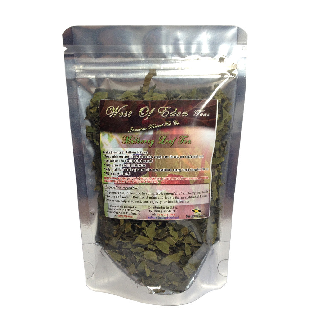 Mulberry Leaf Tea - 1oz organic loose tea leaves