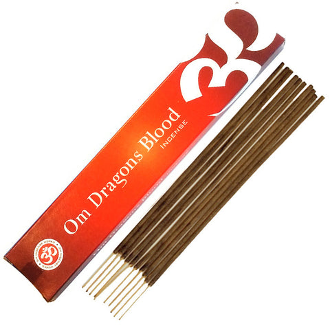 Om Dragons Blood Incense 15 grams
