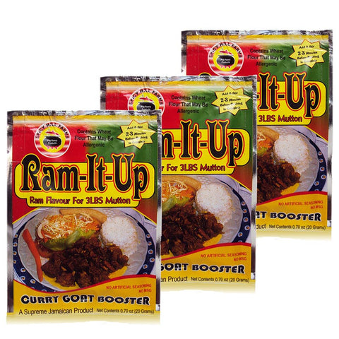 Ram-It-Up Curry Goat Booster 0.70oz (Pack of 3)