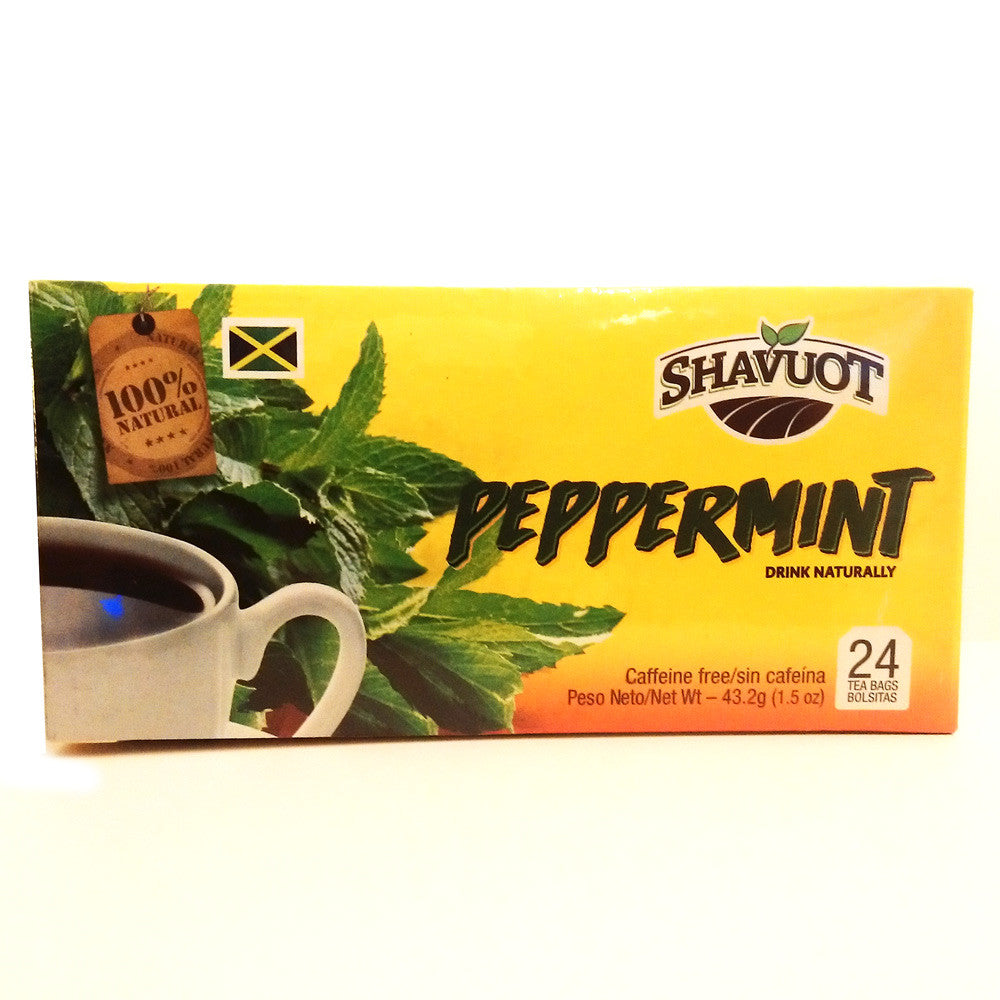 Shavuot Peppermint Tea 24 Tea Bags
