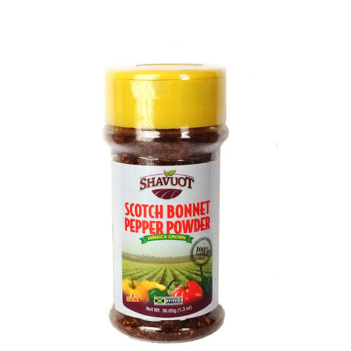 Shavuot Jamaican Scotch Bonnet Pepper Powder 1.3oz