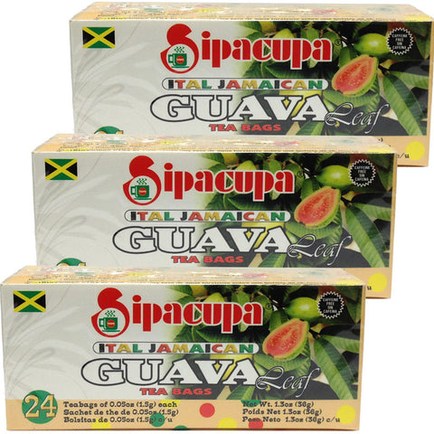 Sipacupa-Guava-Leaf-Tea-24 tea bags (Pack-of-3)