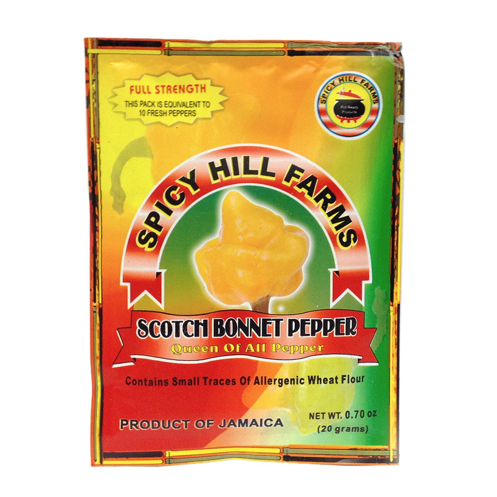 Scotch Bonnet Pepper 25 grams