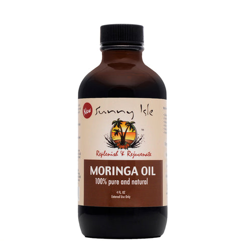 Sunny Isle 100% Pure and Natural MORINGA OIL 4oz