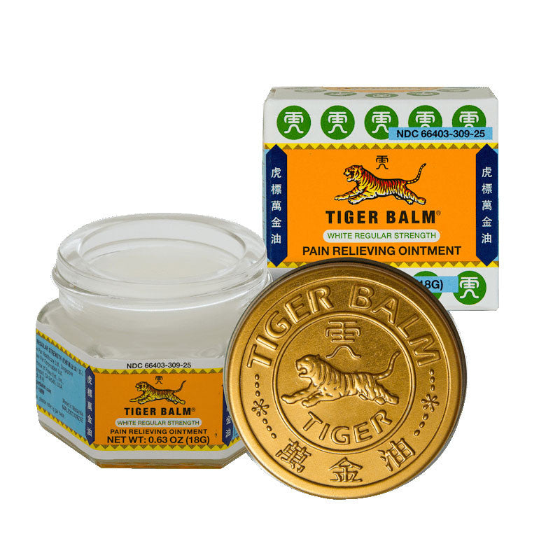 Tiger Balm Pain Relieving Ointment 0.63oz (18g)