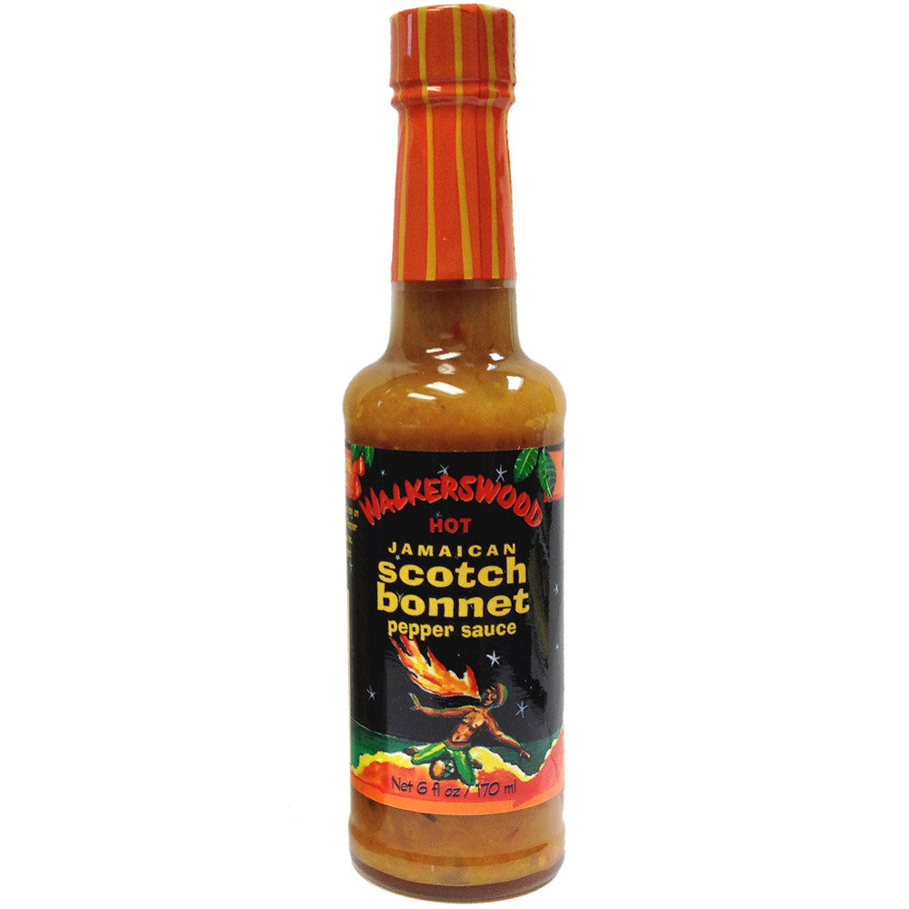 Walkerswood Hot Jamaican Scotch Bonnet Pepper Sauce 6 fl oz