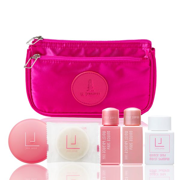 LJ TRAVEL SET - blossom pink