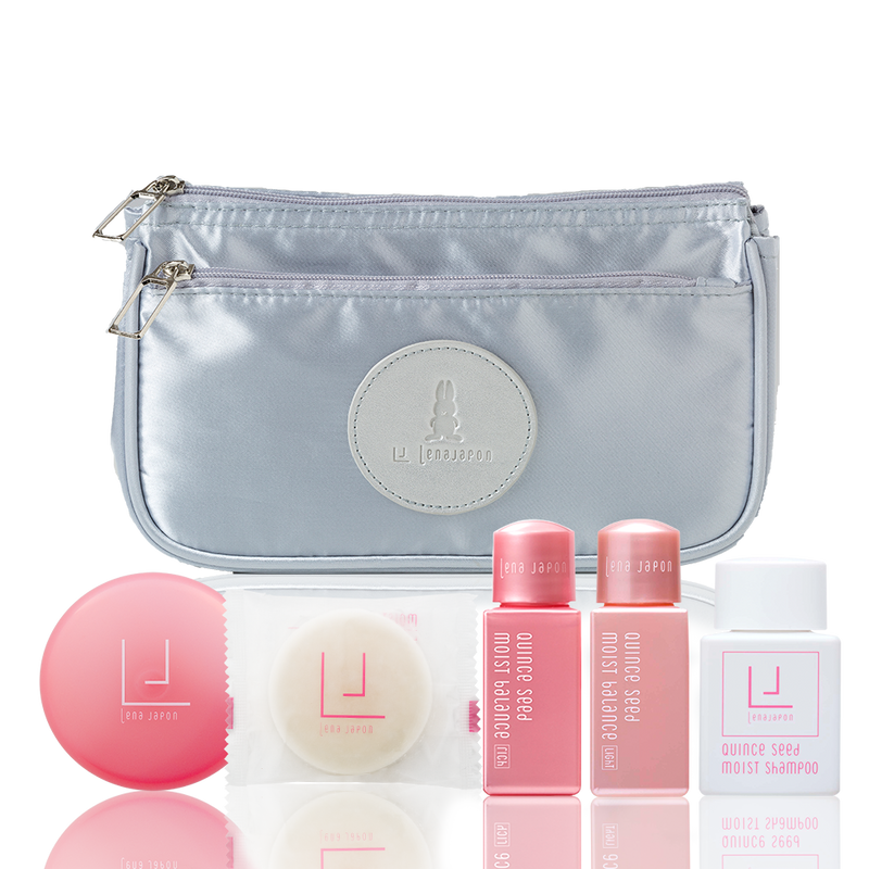 LJ TRAVEL SET - sparkling silver
