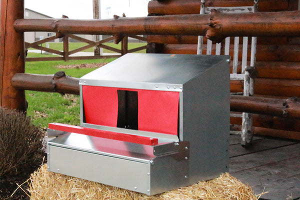 Medium Reversible Rollout Nest Box (Up to 20 Hens) 3.0