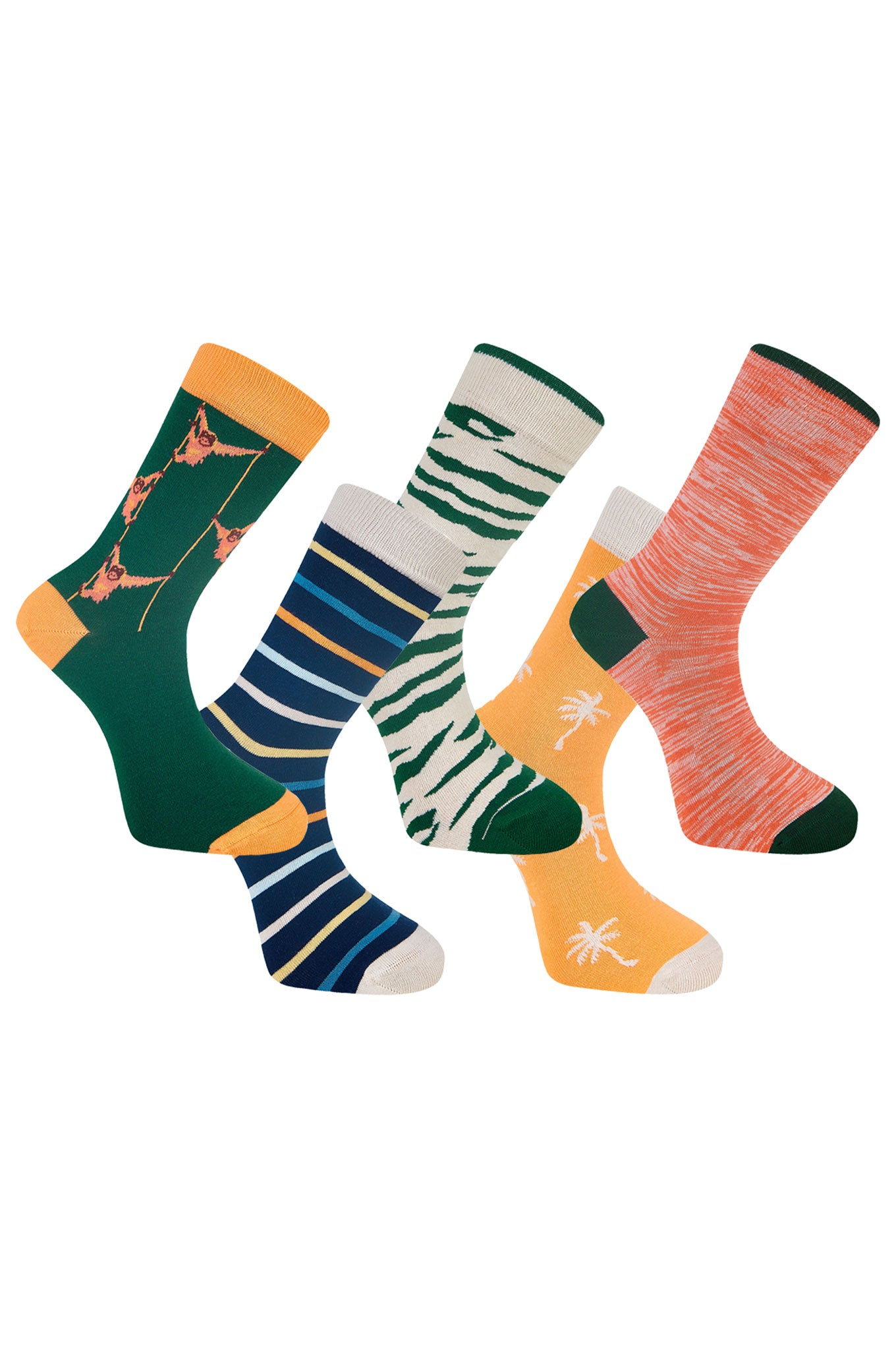 LUCKY DIP - GOTS Organic Cotton Sock Bundle (5 Pairs)