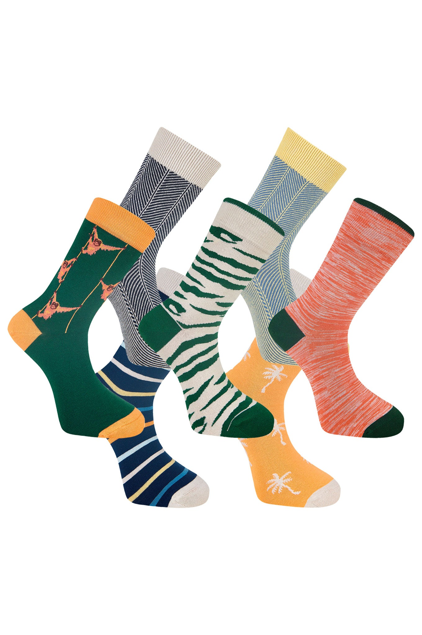 LUCKY DIP - GOTS  Organic Cotton Sock Bundle (7 Pairs)