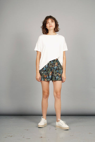THANA Rayon Short SOS Print - Komodo Fashion