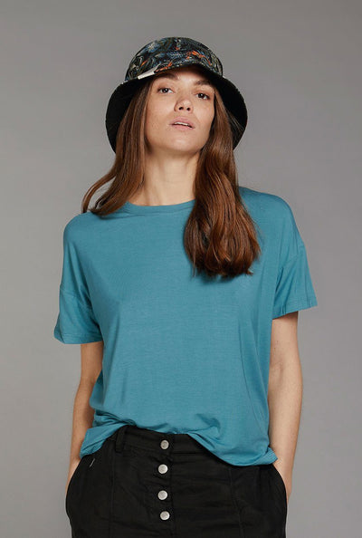 ANYA Bamboo Top Ocean Blue - Komodo Fashion